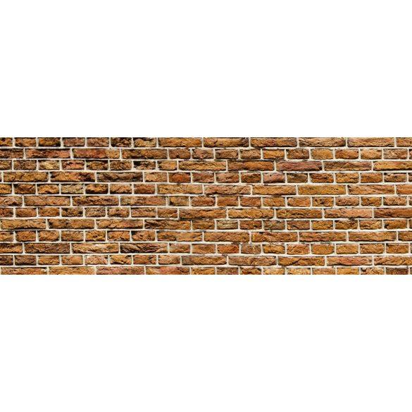 Téglafal, konyhai matrica hátfal, 180 cm