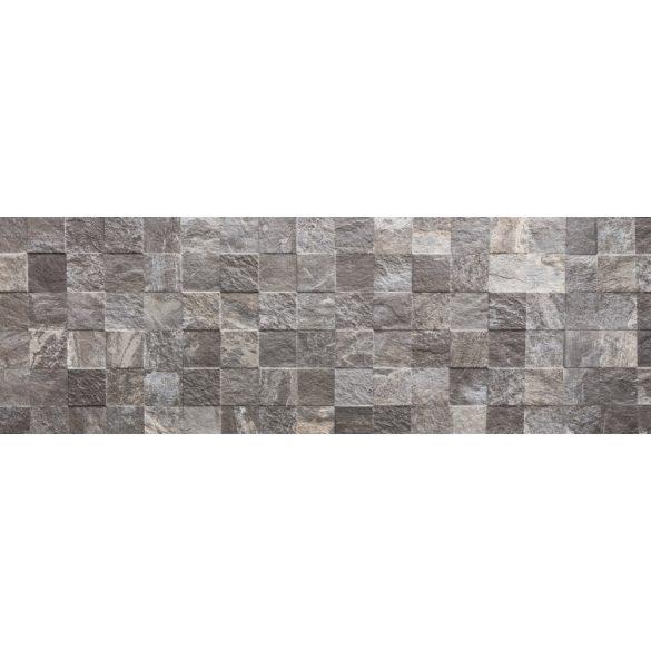 Szürke kőfal, konyhai matrica hátfal, 180 cm