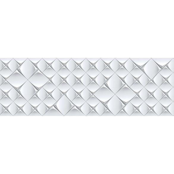 3D csempeminta, konyhai matrica hátfal, 180 cm