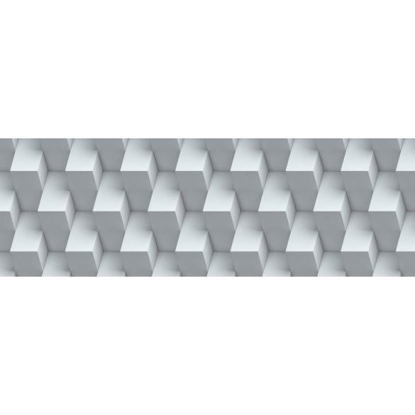 3D geometrikus fal, konyhai matrica hátfal, 180 cm