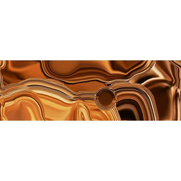 Bronzos folyadék, konyhai matrica hátfal, 180 cm
