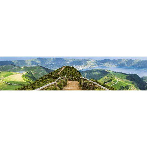 Út a hegyeken, konyhai matrica hátfal, 260 cm
