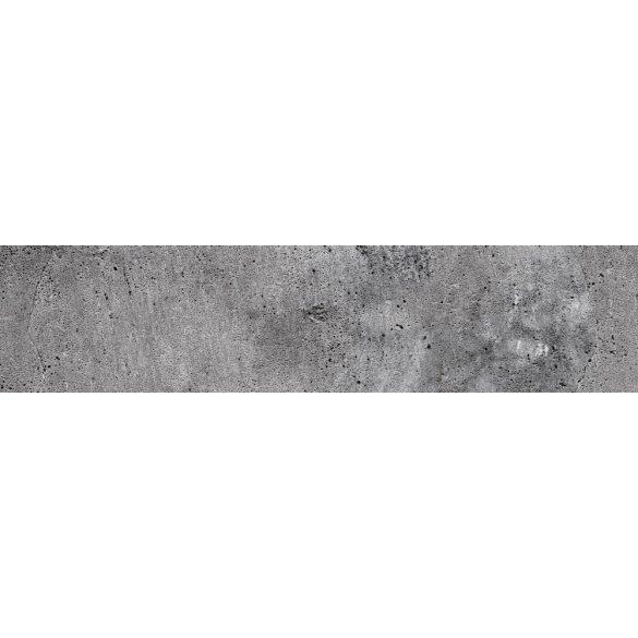 Beton, konyhai matrica hátfal, 260 cm