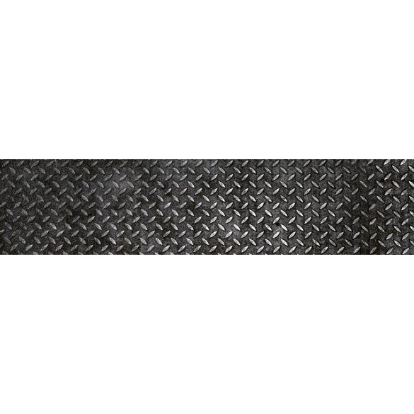 Acél, konyhai matrica hátfal, 260 cm