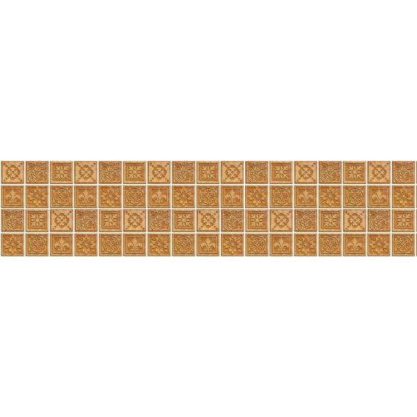 Natúr csempeminták, konyhai matrica hátfal, 260 cm