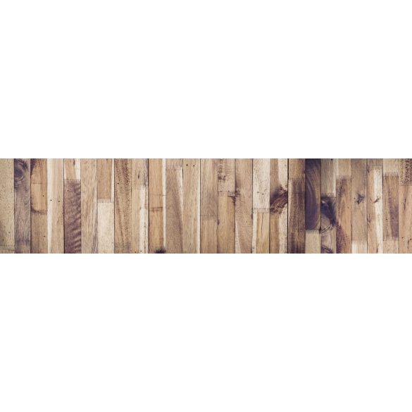 Fa parketta, konyhai matrica hátfal, 260 cm