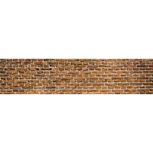 Téglafal, konyhai matrica hátfal, 260 cm