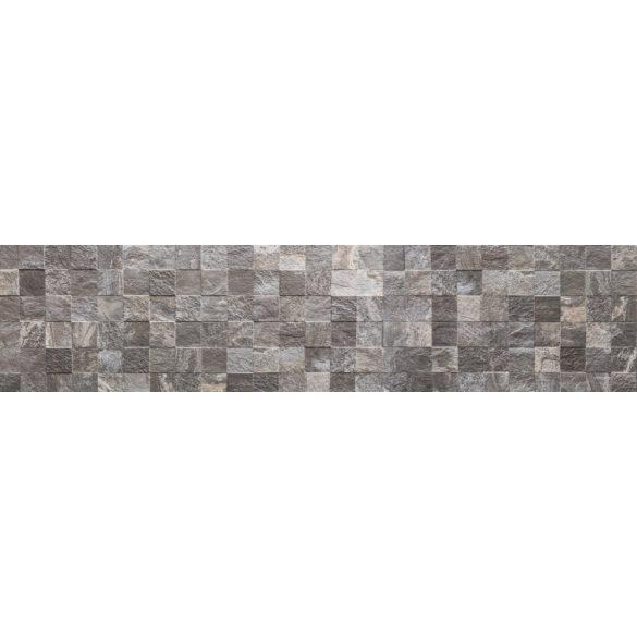 Szürke kőfal, konyhai matrica hátfal, 260 cm