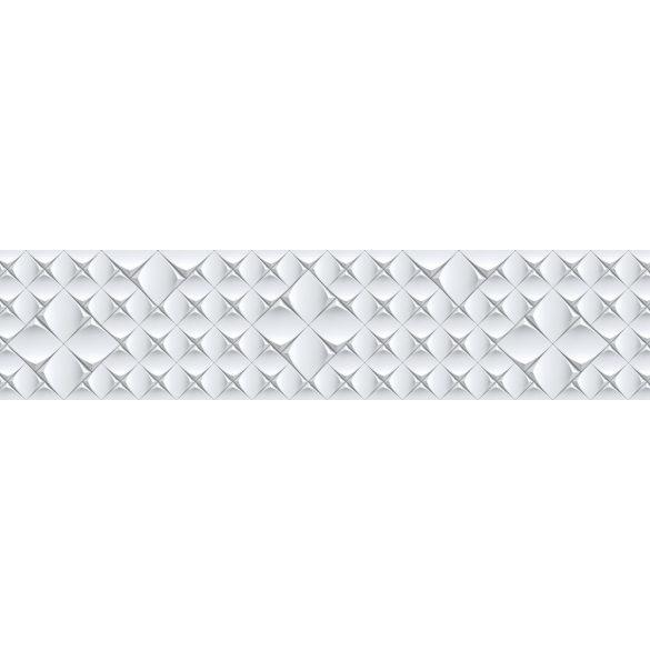 3D csempeminta, konyhai matrica hátfal, 260 cm