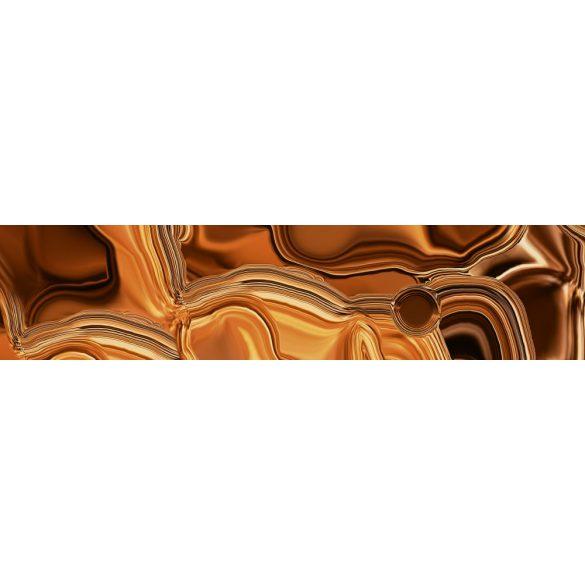 Bronzos folyadék, konyhai matrica hátfal, 260 cm
