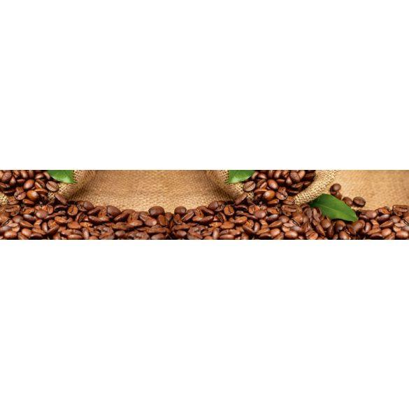 Kávé szemek, konyhai matrica hátfal, 350 cm