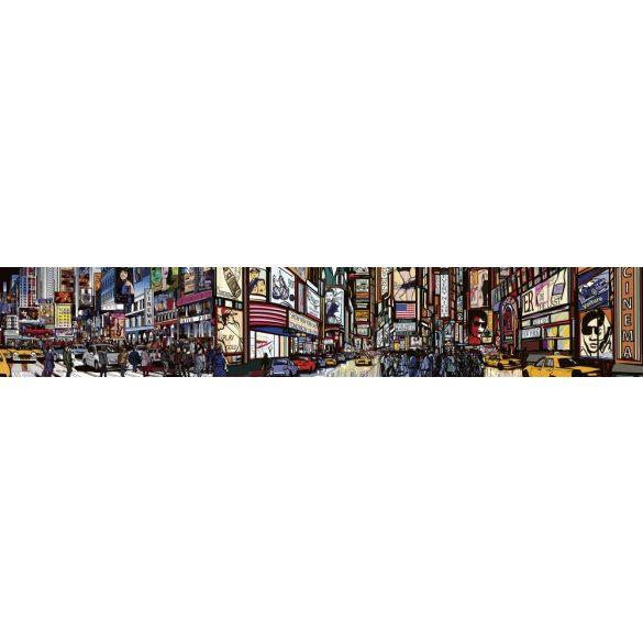 Times Square, konyhai matrica hátfal, 350 cm