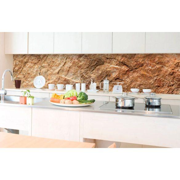 Natúr kő, konyhai matrica hátfal, 350 cm