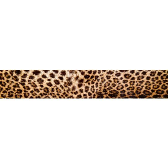 Leopárd, konyhai matrica hátfal, 350 cm