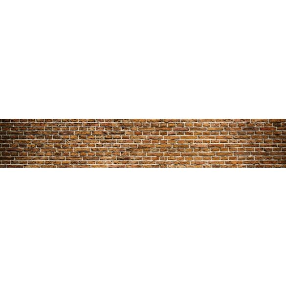 Téglafal, konyhai matrica hátfal, 350 cm