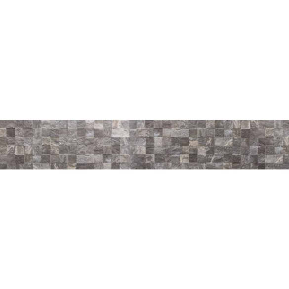 Szürke kőfal, konyhai matrica hátfal, 350 cm