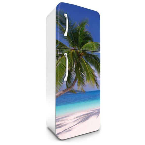 Pálmafa, hűtőszekrény matrica, 180 cm