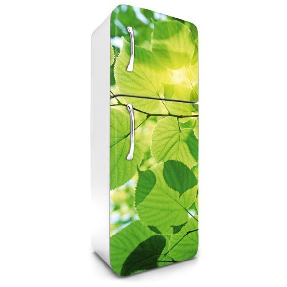 Levelek, hűtőszekrény matrica, 180 cm