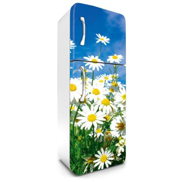Margaréták, hűtőszekrény matrica, 180 cm