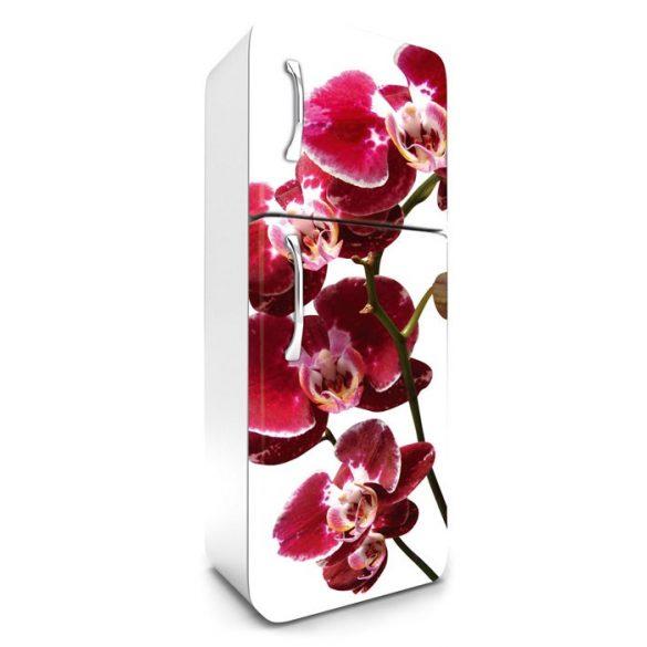 Orchidea, hűtőszekrény matrica, 180 cm