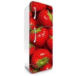 Eper, hűtőszekrény matrica, 180 cm