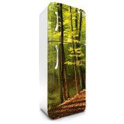 Erdő, hűtőszekrény matrica, 180 cm