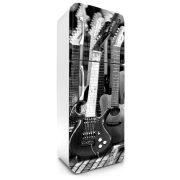 Gitár, hűtőszekrény matrica, 180 cm