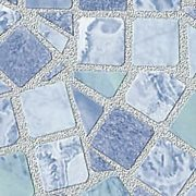 Világos kék mozaik mintás 3D öntapadós tapéta a Dekormatricák Webáruházban