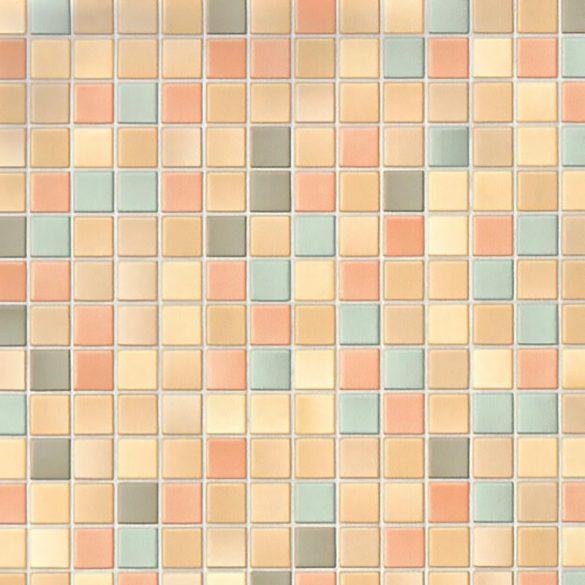 Színes mozaik mintás 3D öntapadós tapéta a Dekormatricák Webáruházban