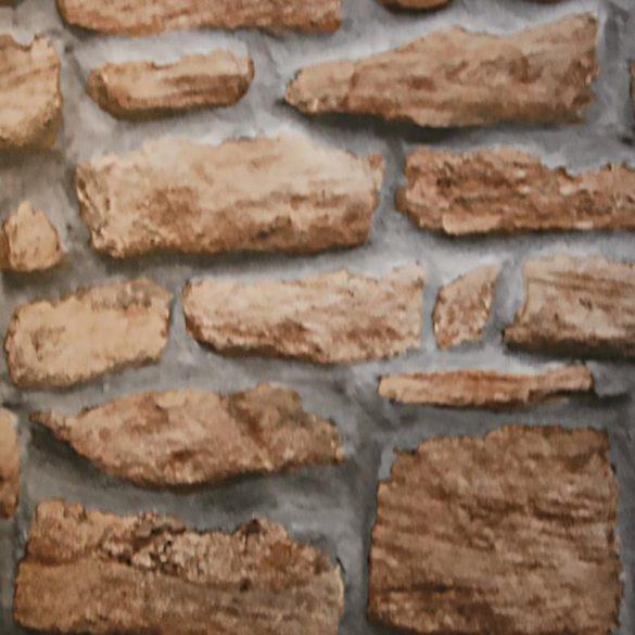 Terméskő kőfal mintás 3D öntapadós tapéta a Dekormatricák Webáruházban