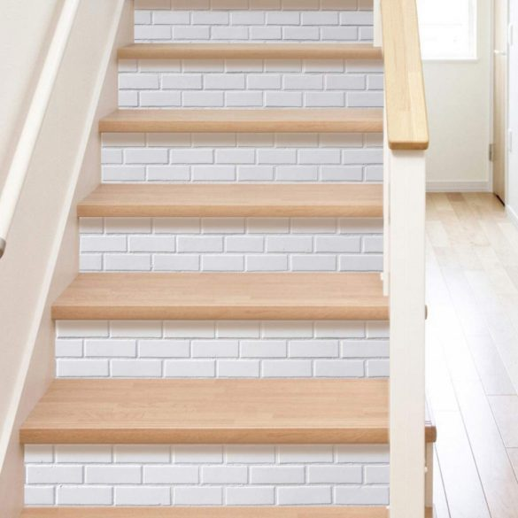 Kő mintás lépcsőmatrica a Dekormatricák Webáruházban