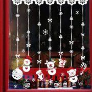 Karácsonyi figurák, dekorációs matrica ablakra vagy kirakatra - Dekormatricák Webáruház