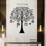 Romantikus fekete családfa