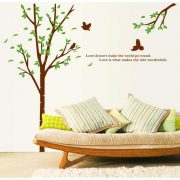 Fa és madarak, szöveggel