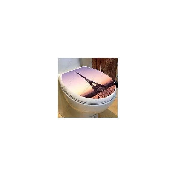 Csillámos toalett díszítő matrica