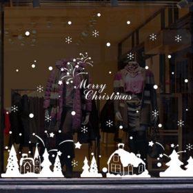 Karácsonyi ablakmatricák