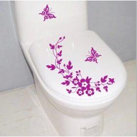 Toalett díszítő matricák